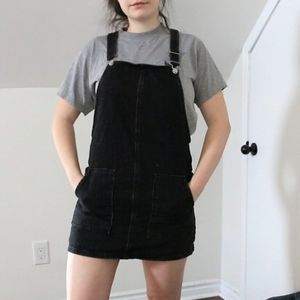 Topshop Overall Dress